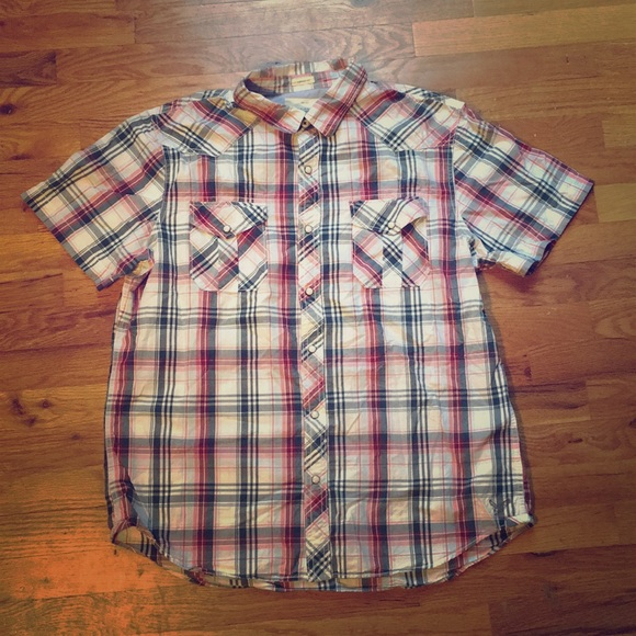American Eagle Outfitters Other - NWOT American Eagle Vintage Fit plaid button down
